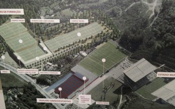 UEFA elogia investimento do SC Braga na Cidade Desportiva