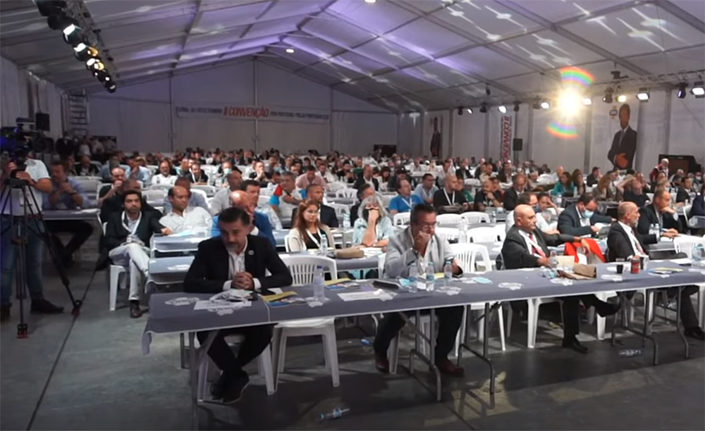 GNR fiscaliza regras na convenção do Chega e faz algumas