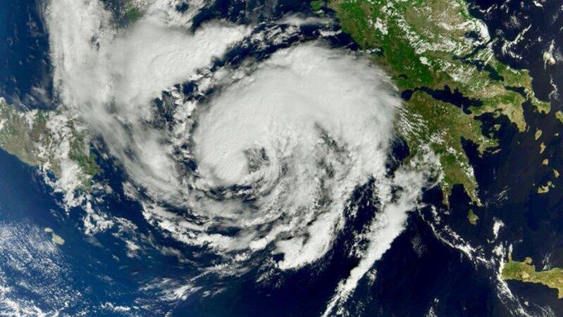 'Medicane', Tempestade rara que lembra furacão chega à Europa este sábado