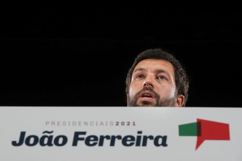 """Presidenciais. João Ferreira ataca Marcelo e as suas """"diversões mediáticas"""""""