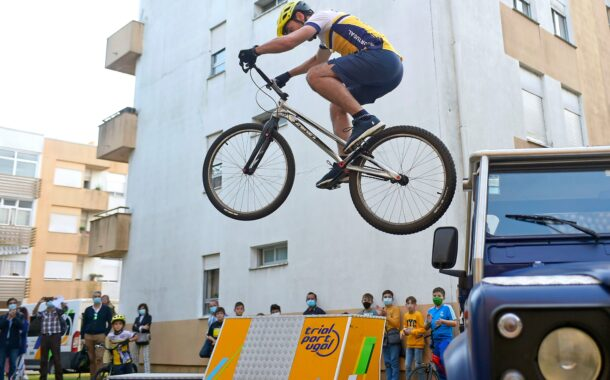 Projecto pioneiro leva trial bike aos bairros de Braga