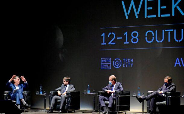 """Covid-19 """"acelerou exponencialmente"""" a transição digital em Braga, afirma Ricardo Rio no 'Techdays Aveiro'"""