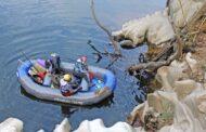 Cerca de 200 quilos de lixo recolhidos nas margens do rio Minho