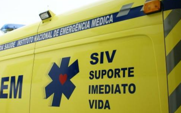 Trabalhador em estado grave após queda de cinco metros nos Arcos de Valdevez
