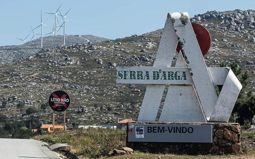 Alto Minho e Galiza articulam posição comum contra prospecção de lítio na Serra d'Arga