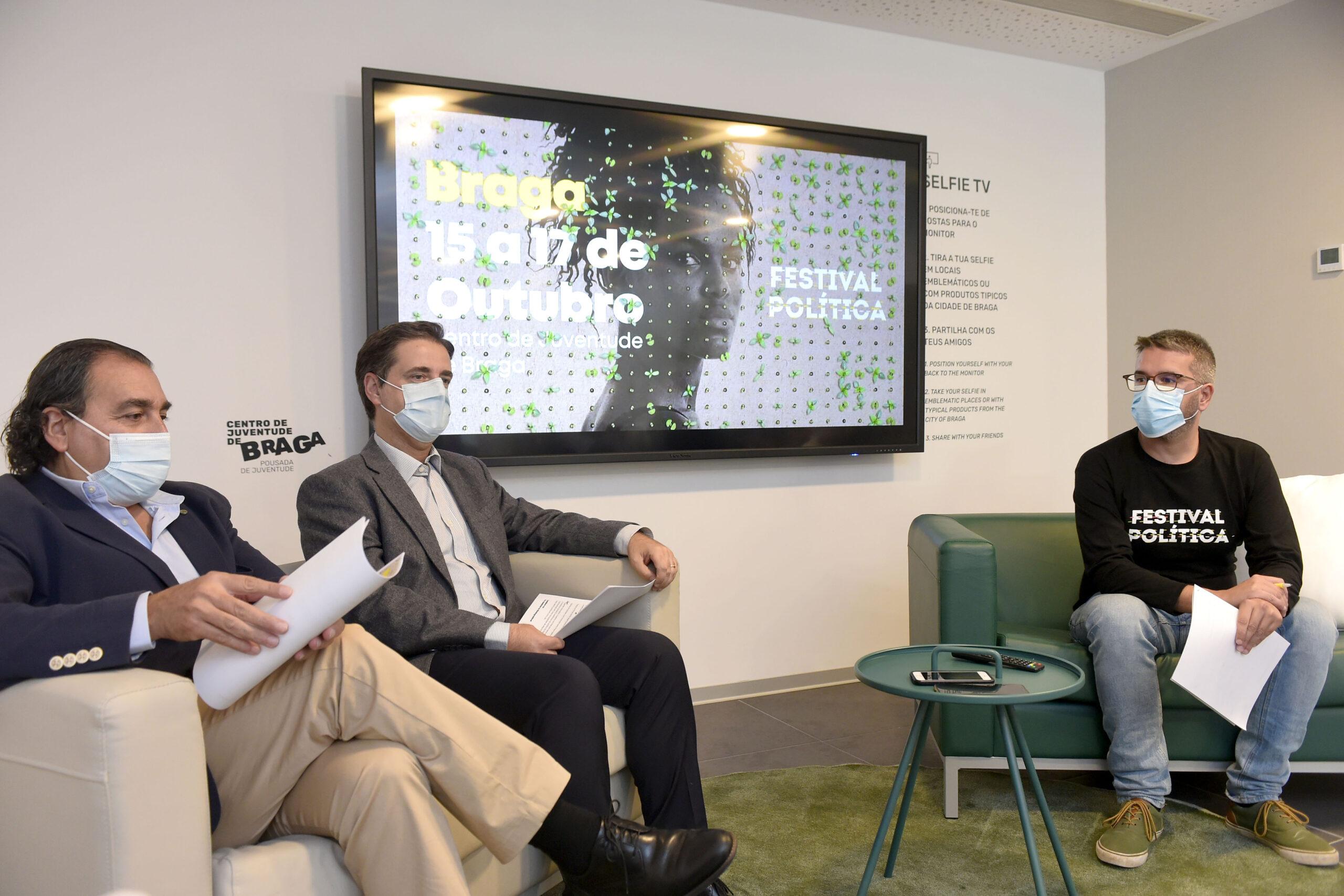 Festival Política de Braga tem como tema central o Ambiente e o Brasil em foco