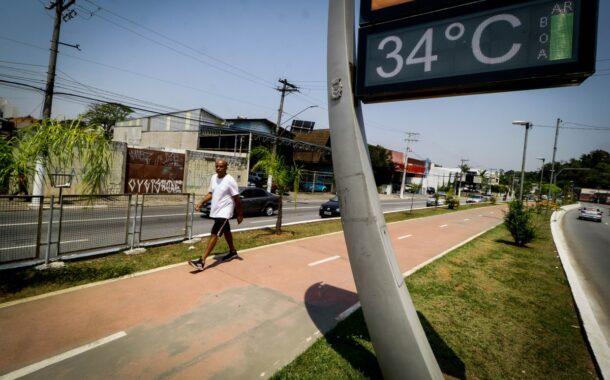Brasil atinge a mais elevada temperatura dos últimos 15 anos