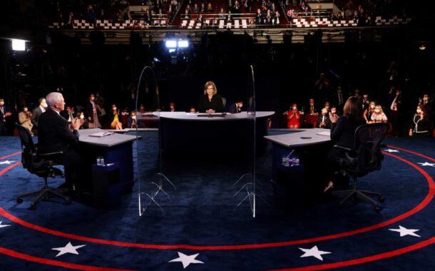 Jornais destacam civismo e covid-19 no debate Kamala-Pence
