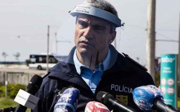 Director nacional da PSP infectado com covid-19