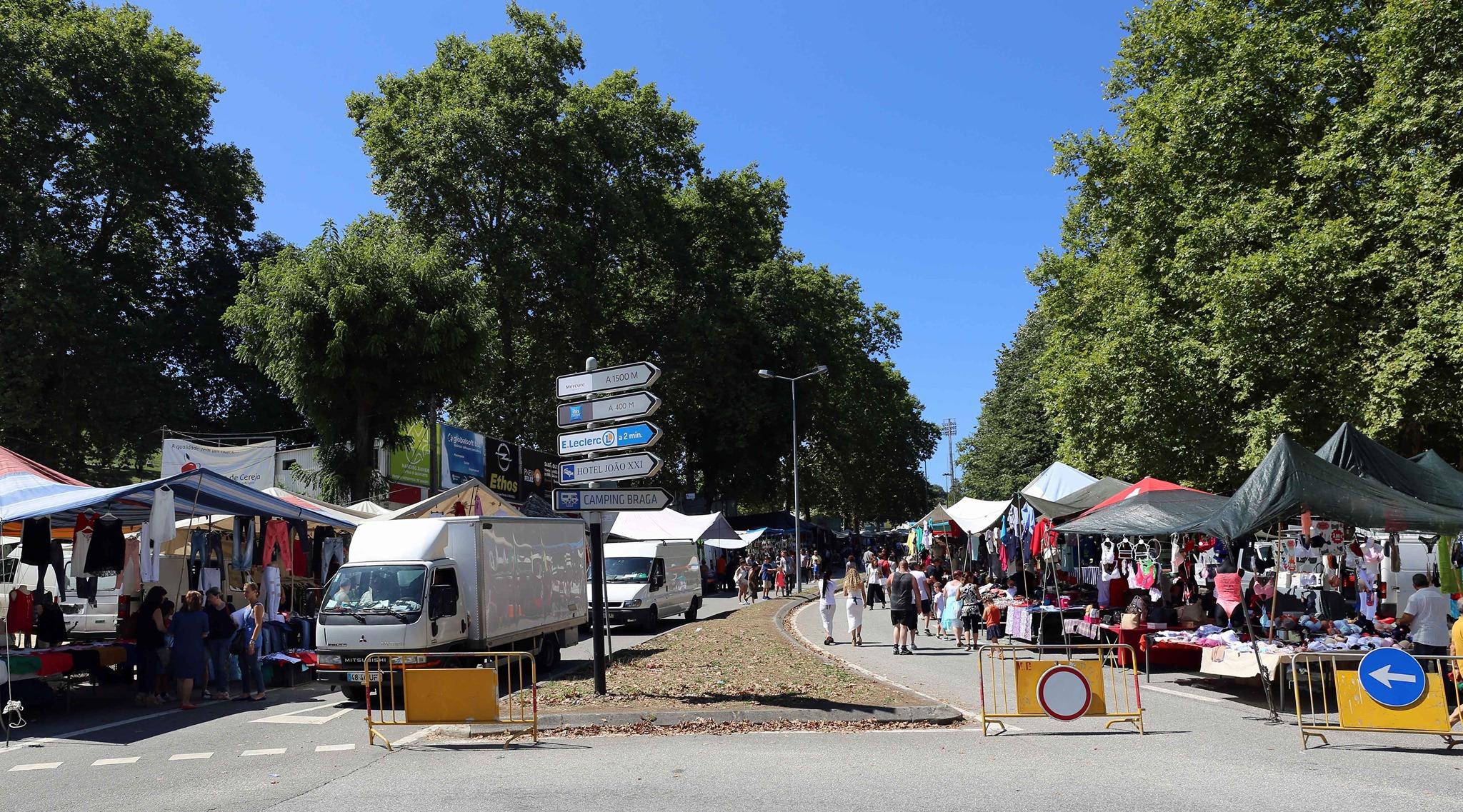 Feiras e tolerância de ponto em Braga