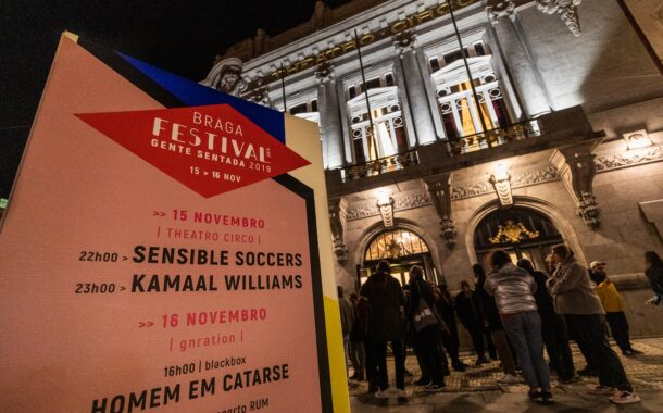 Braga. Festival para Gente Sentada regressa ao Theatro Circo em Dezembro com Jorge palma no cartaz (17 a 19 DEZ)