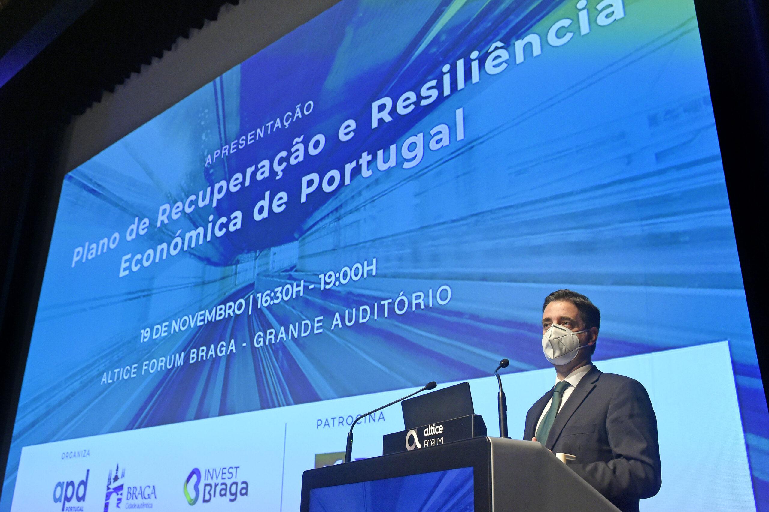 """Agentes regionais e locais """"são fundamentais"""" para sucesso do Plano de Recuperação e Resiliência, afirma Ricardo Rio"""