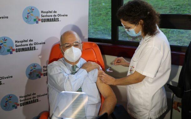 Já arrancou vacinação dos 445 profissionais do Hospital de Guimarães