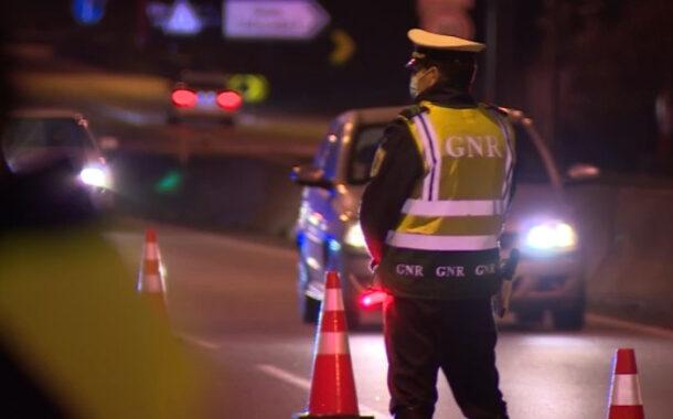 Operação Natal e Ano Novo da GNR na estrada com controlo reforçado até 4 de Janeiro