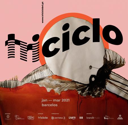 Programa musical 'triciclo' promete programação de qualidade a abrir 2021 em Barcelos