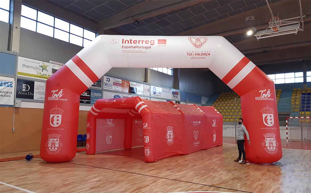Eurocidade Valença/Tui com novo equipamento destinado a evento culturais e desportivos