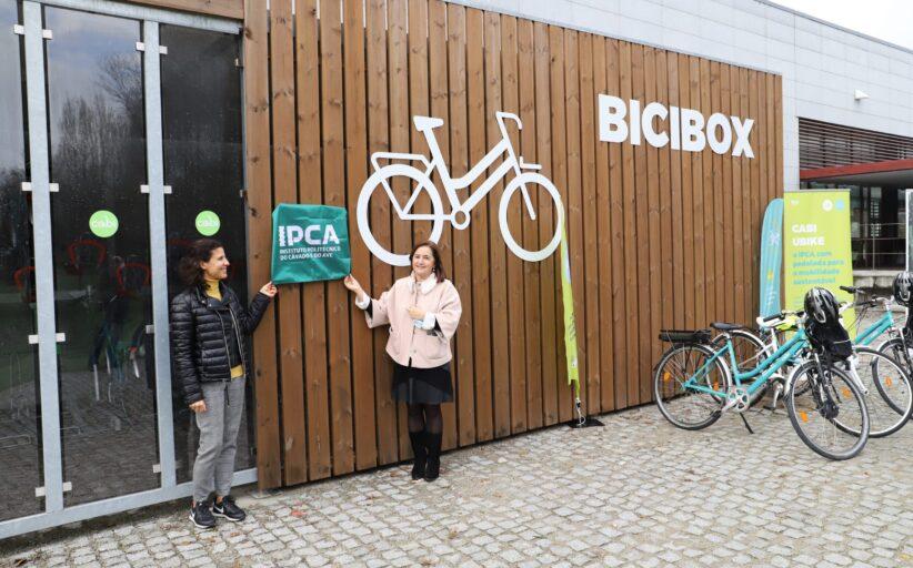 Instituto Politécnico do Cávado e Ave já tem uma BiciBox