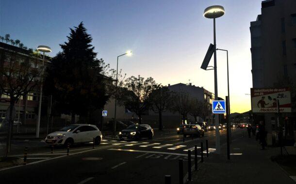 LED chega a 35% da iluminação pública em Braga