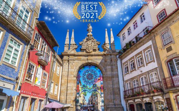 Turismo Porto e Norte felicita Braga pela eleição como Melhor Destino Europeu 2021