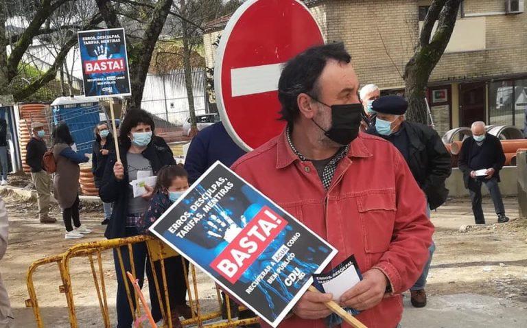 """CDU leva protesto contra """"erros"""" das Águas do Alto Minho às ruas de Ponte de Lima"""