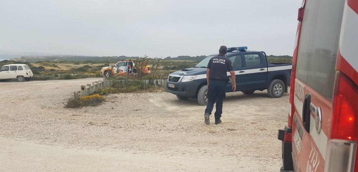 Resgatadas quatro pessoas em praia de Viana do Castelo. Foram multadas por violar estado de emergência