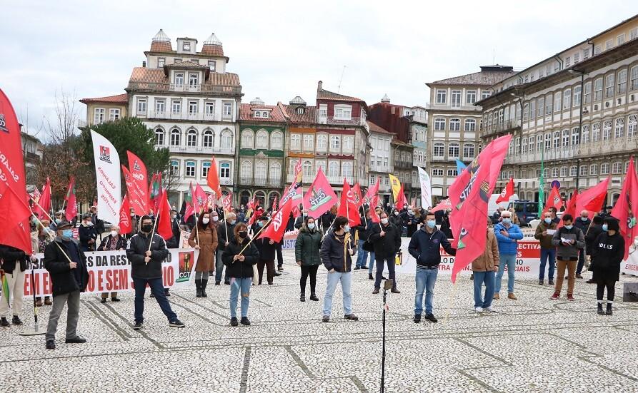CGTP acusa em Guimarães Governo de usar a pandemia para ameaçar trabalhadores