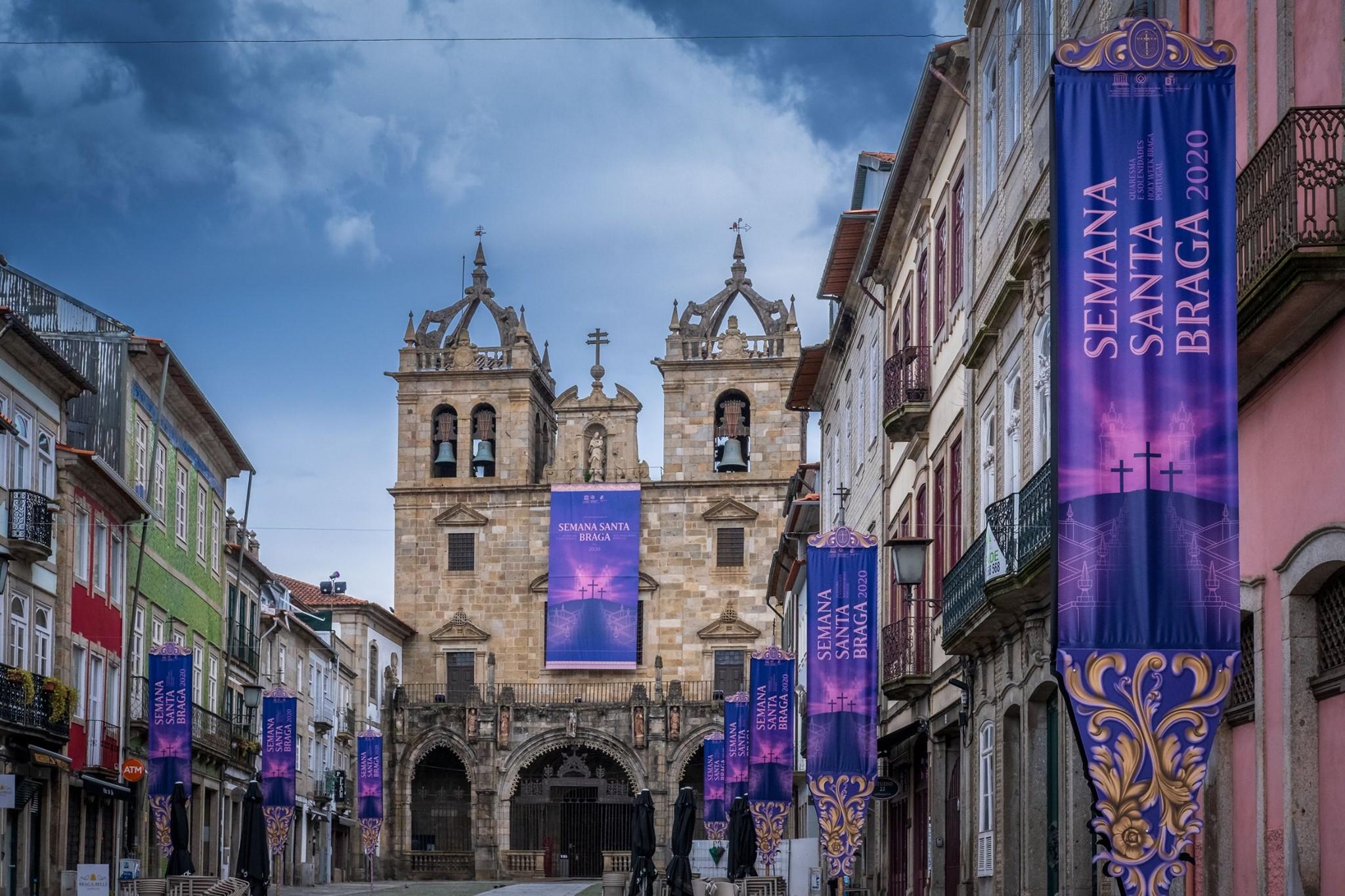 Programação da Semana Santa de Braga transfere-se para o digital