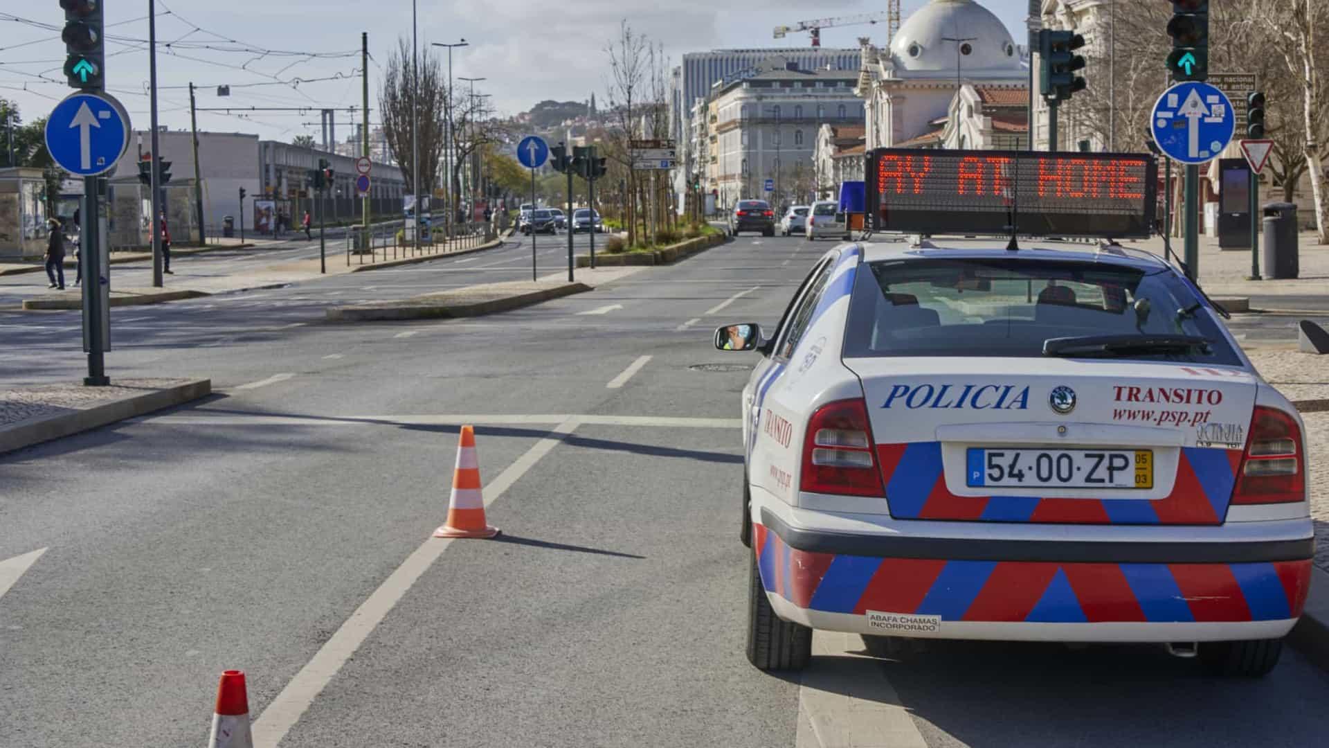 PSP cobra mais de 100 mil euros em multas de violação ao estado de emergência desde Janeiro