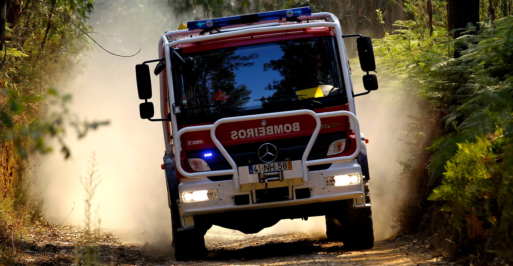 Braga investe 250 mil euros em veículo para combate a incêndios urbanos