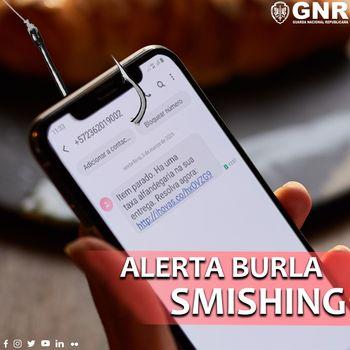 GNR alerta para o 'smishing', um novo método de burla