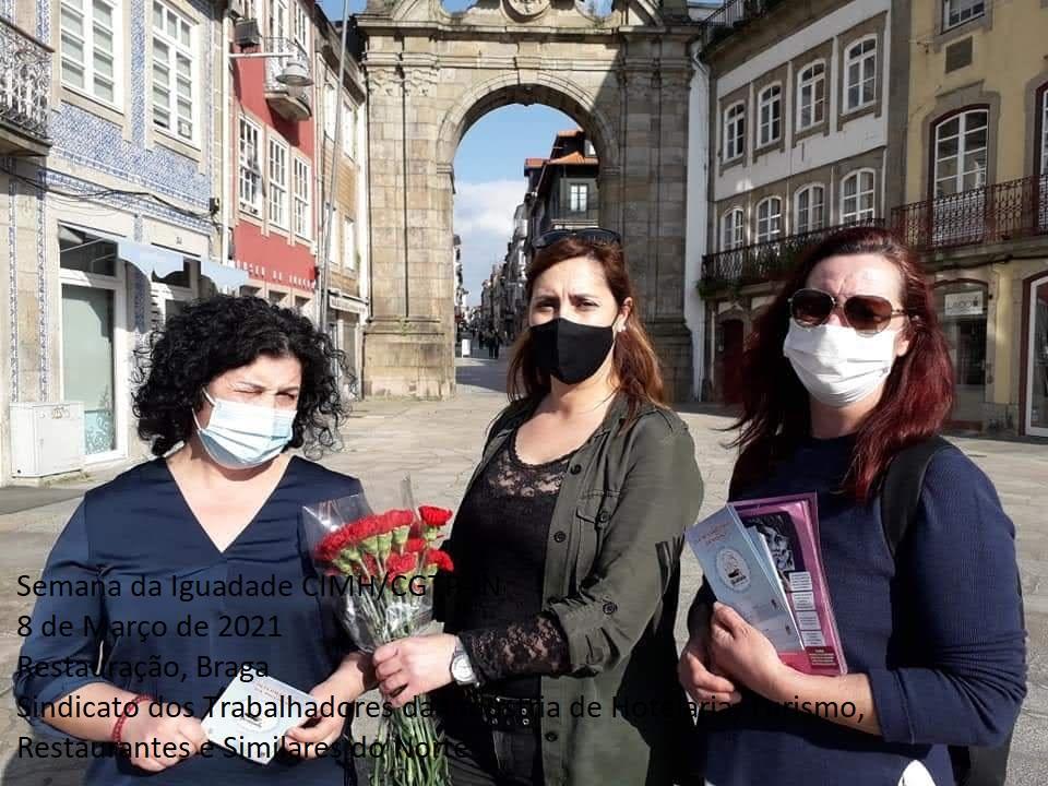 USB assinala Dia Internacional da Mulher com encontros em Braga e Famalicão