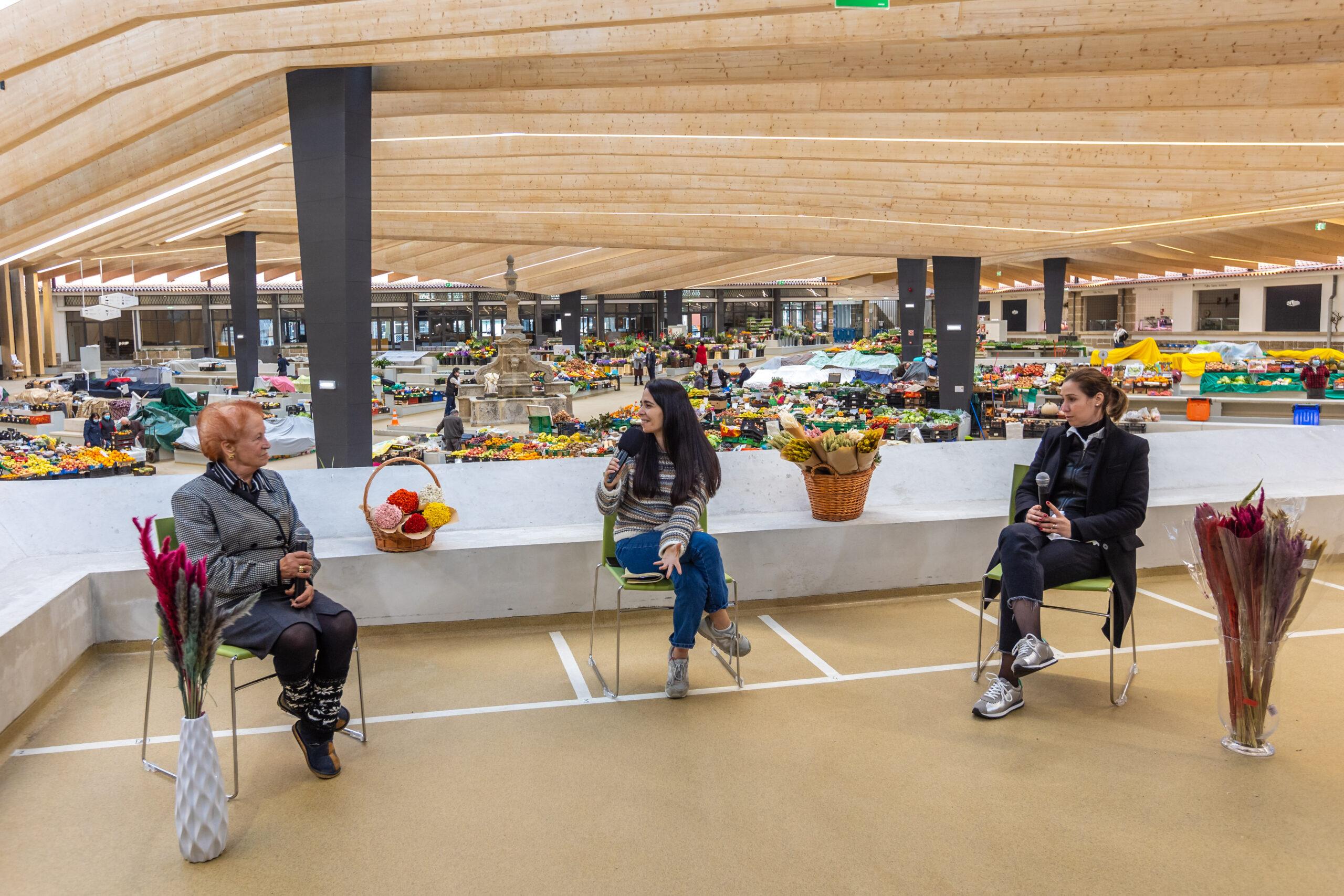 'Conversas da Praça' dá a conhecer história de vida das mulheres do mercado municipal Braga