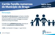 Braga. Renovação do Cartão Família Numerosa em curso