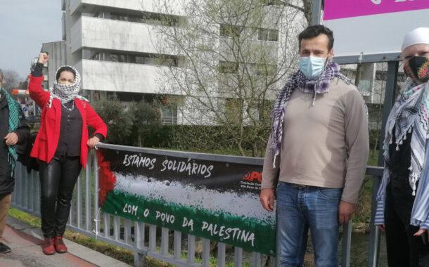 PCP de Famalicão apela ao reconhecimento por Portugal do Estado Palestiniano