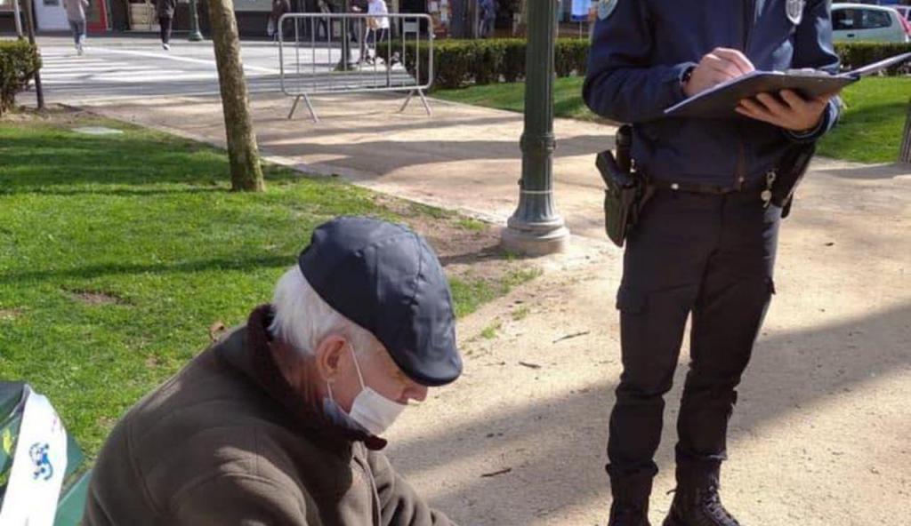 PSP desmente publicação polémica no Facebook: afinal, idoso não foi multado