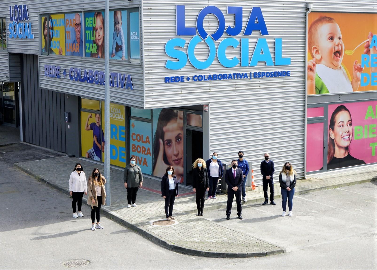 Loja Social Rede + Colaborativa de Esposende já tem nova casa