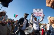 PSP prepara processo-crime contra organizadores de manifestação anticonfinamento