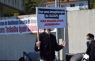 Radiologistas do Alto Minho em vigílias e greve exigem melhores salários