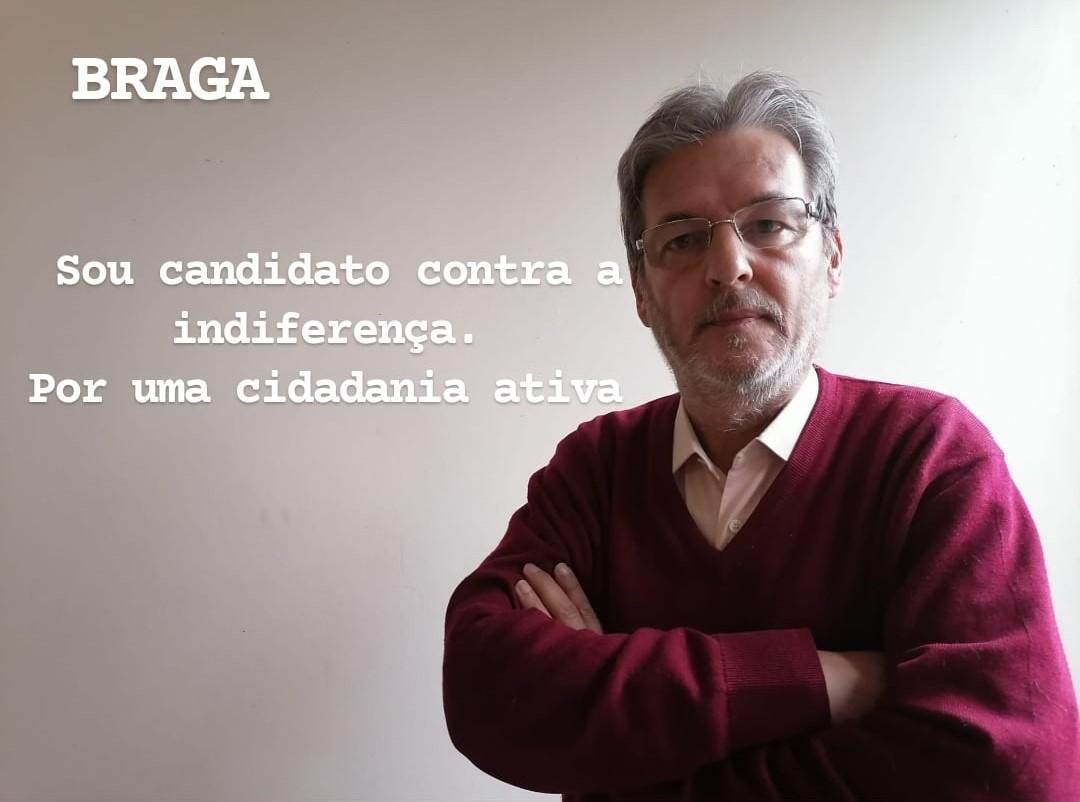 """Autárquicas. Ex-jornalista Paulo Sousa anuncia 'candidatura' a Braga para dar corpo à """"cidadania activa"""""""