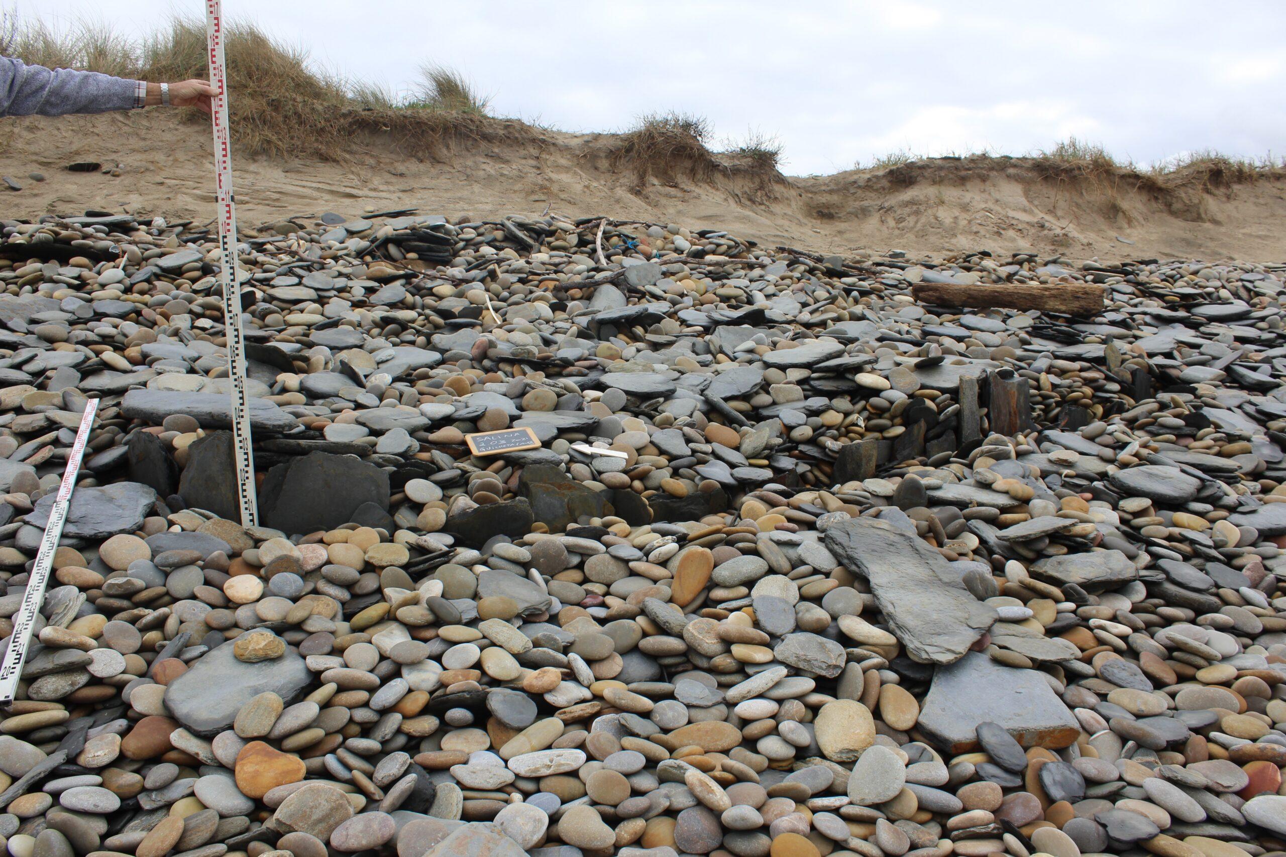 Esposende estuda vestígios arqueológicos descobertos na praia de Guilheta