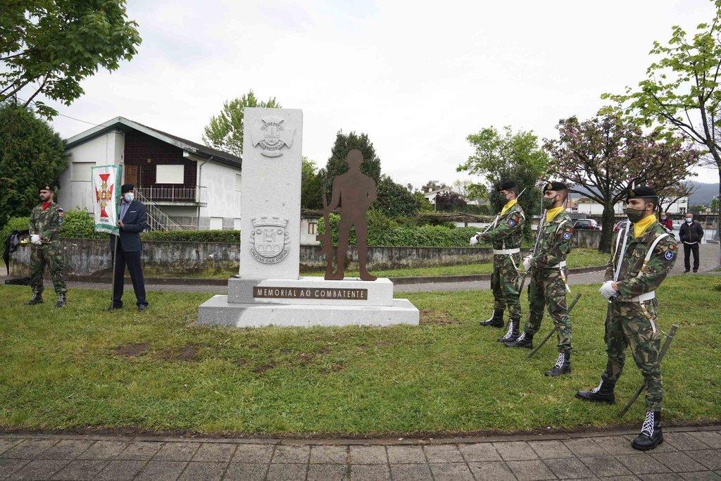 Guimarães. Caldas das Taipas inaugura memorial em homenagem aos antigos combatentes