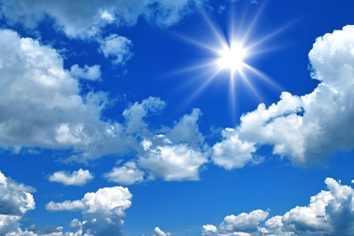 Sol e céu (quase) limpo até sexta-feira