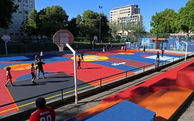 Câmara de Braga requalifica do polidesportivo de Santa Tecla para melhorar bem-estar da comunidade