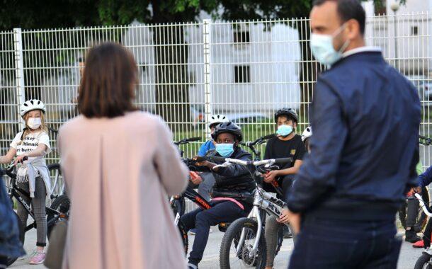 Braga. Participantes no Bike Atitude do bairro das Enguardas recebem novos equipamentos