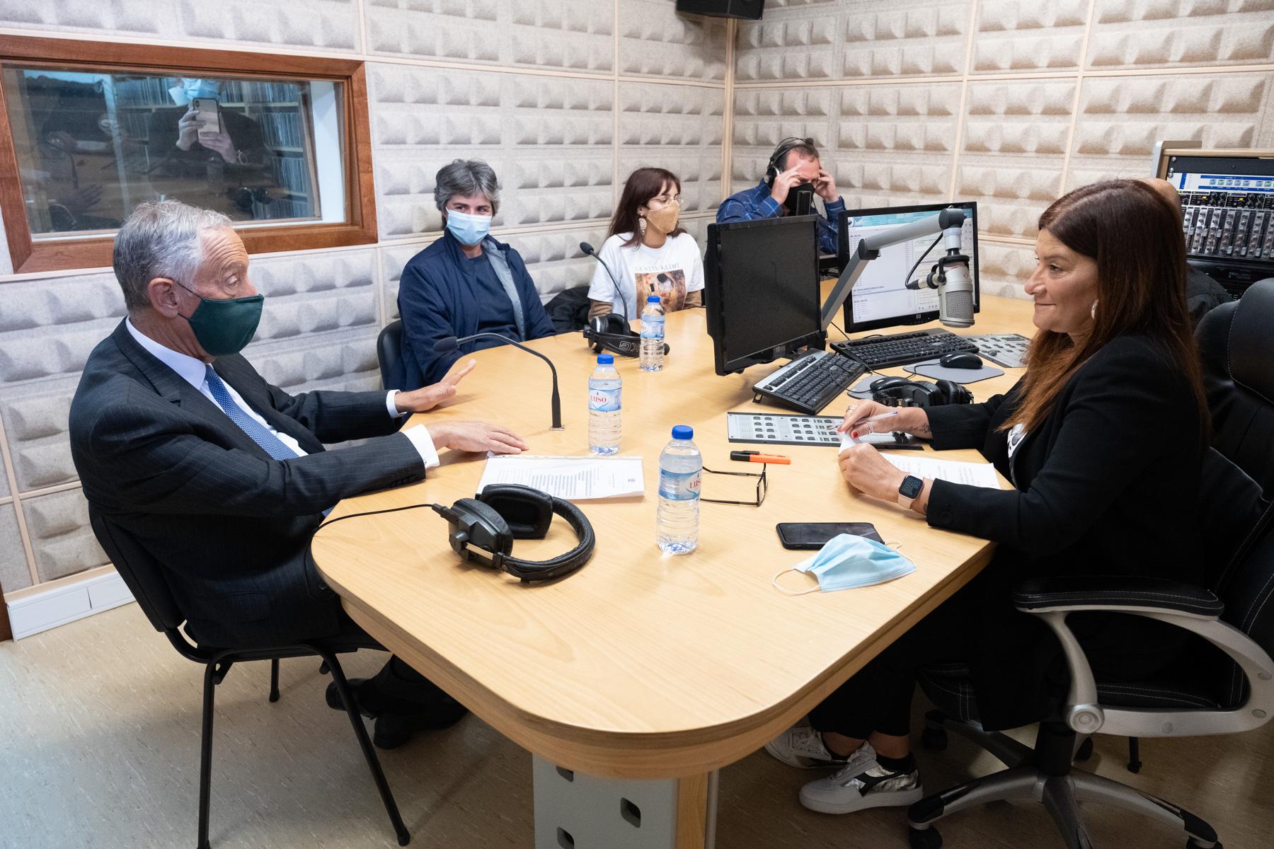 """Presidente da República acredita que """"jamais venha a haver uma mina na Serra d'Arga"""""""
