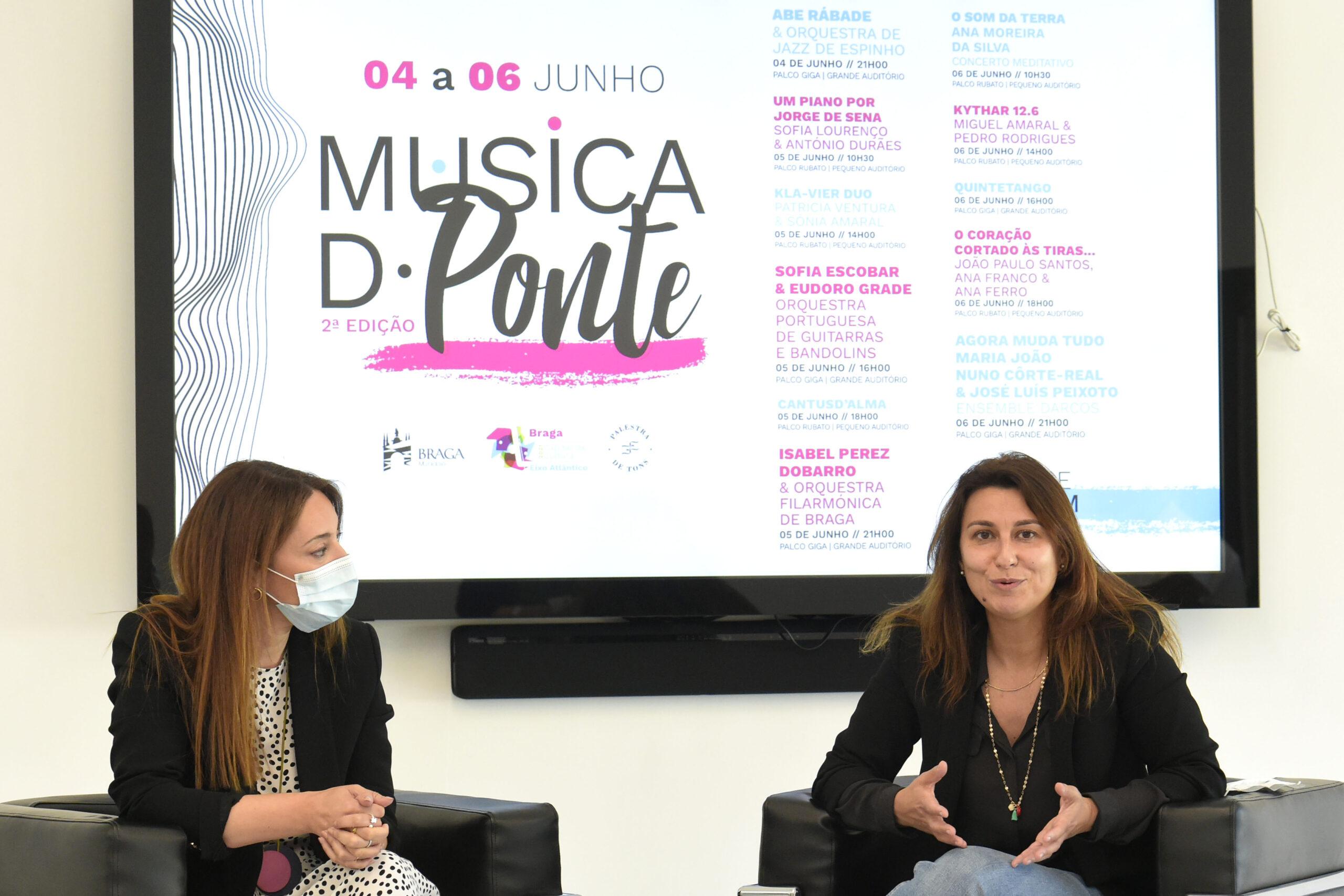 Festival Música d'Ponte regressa de 4 a 6 de Junho para celebrar rota do Eixo Atlântico em Braga