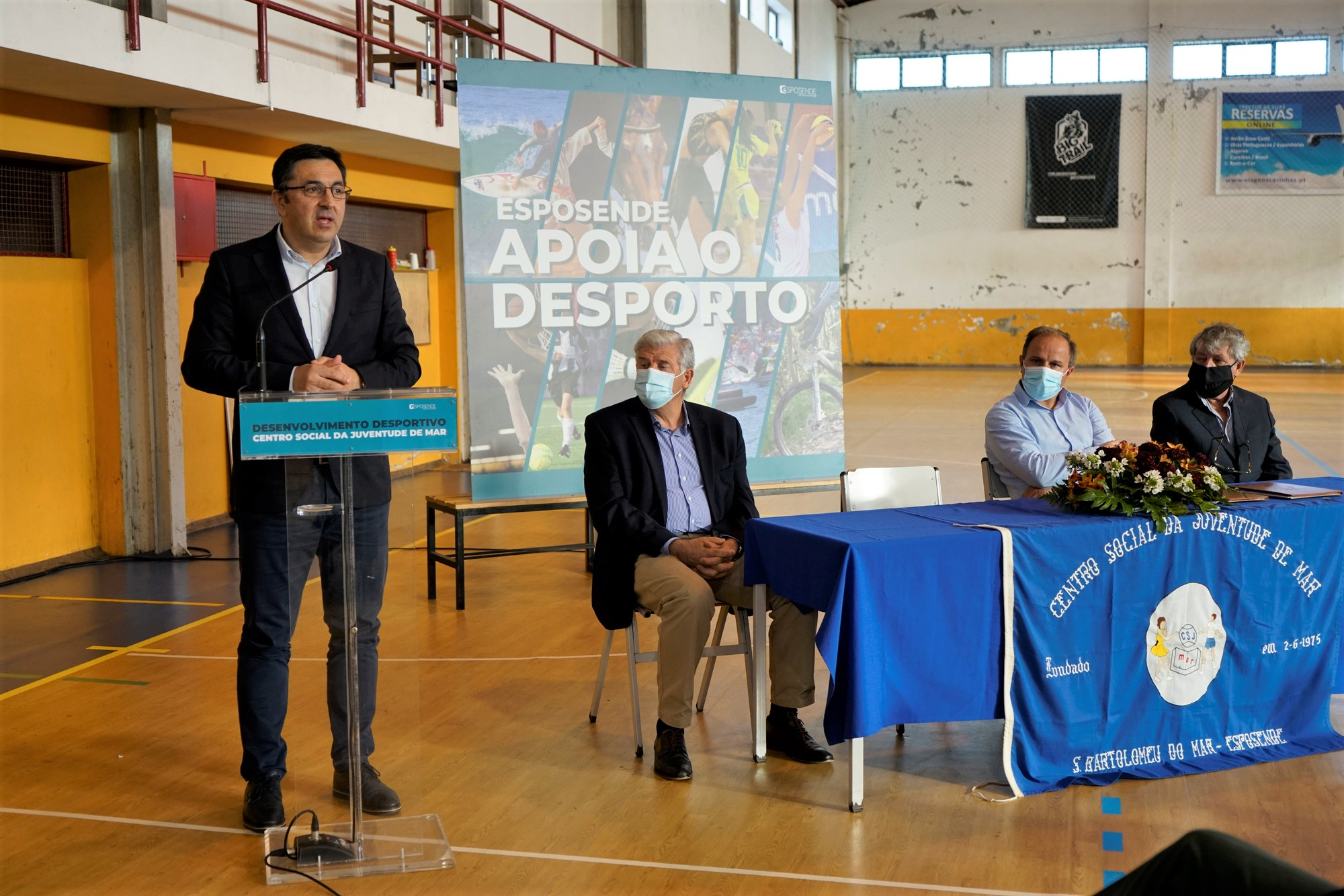 Esposende financia em 70 mil euros obras de reabilitação no gimnodesportivo de Mar