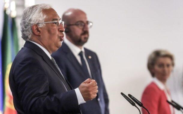 """""""Estamos a fazer um trabalho discreto sobre salário mínimo europeu"""", diz António Costa"""
