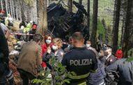 Treze mortos e duas crianças gravemente feridas em queda de teleférico em Itália