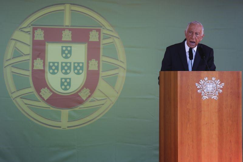 """10 de Junho. """"Desenganem-se os profetas da decadência"""", """"Portugal é um país de futuro"""", diz Marcelo"""